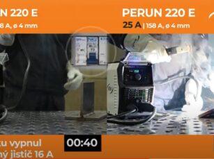 Perun 220 E v testech